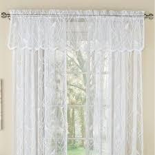 Lace Valance Curtains Troubadour Birds Lace Curtain Window Treatment