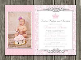 printable princess birthday invitation girls 1st birthday party