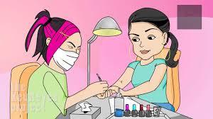 anjelah johnson nail salon animated by homeinvasion tv youtube