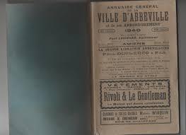abbeville bureau file annuaire générale d abbeville en 1948 page de garde jpg