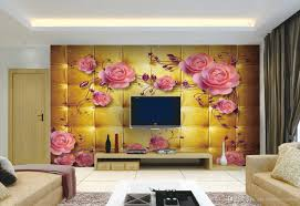 Wall Mural Wallpaper by 3d Rose Peony Jade Watch Tv Wall Mural 3d Wallpaper 3d Wall Papers
