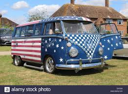 vintage volkswagen truck a vintage vw volkswagen split screen camper van bus in american