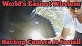 how to install a wireless reverse camera from ebay youtube