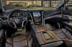cadillac jeep interior 2018 cadillac escalade release date review price spy shots
