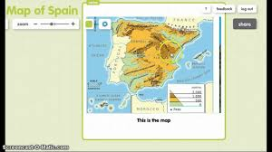 Map Of Spain by Map Of Spain Youtube