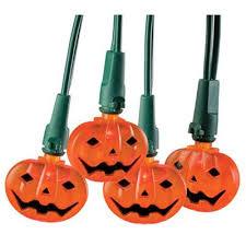 sylvania led halloween string lights orange pumpkin indoor