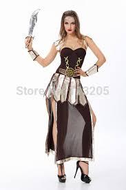 Greek Halloween Costume Aliexpress Buy Ancient Greek Warrior Woman Halloween Costume