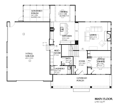 craftsman style house plan 3 beds 2 50 baths 2456 sq ft plan