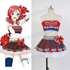 Cheerleader Halloween Costume Girls Cheap Cheerleader Maki Costume Aliexpress