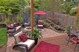 Small Water Features For Patio Fire Pit Water Feature Pergola Paver Courtyard Traditional