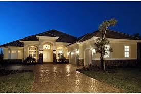 one story homes mediterranean plan 3 089 square 3 4 bedrooms 3 bathrooms
