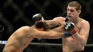 video ufc lightweight joe lauzon battles brother dan in epic
