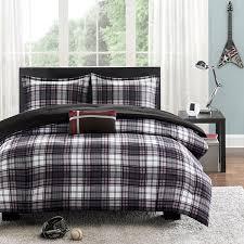 Plaid Bed Set Mizone David Plaid Comforter Set