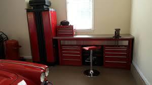 Work Benches With Storage Garage Workbench Garage Workbench Home Design By Larizza Steel