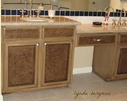 Faux Finish Bathroom Cabinets Lynda Bergman Decorative Artisan Painting U0026 Staining A Special