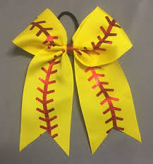 softball bows s bowtique custom made bows softball bows cheer bows