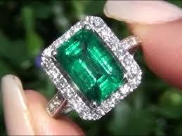 new diamonds rings images Angelina jolie certified zambian emerald diamond ring new jpg