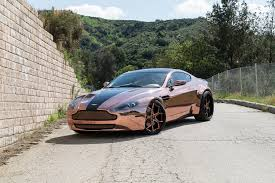 maserati gold chrome rose gold vantage