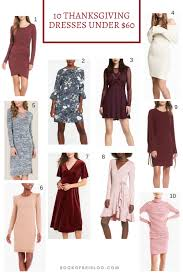 thanksgiving dresses 60 on book of bri