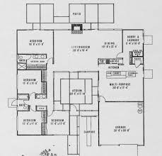 eichler home plans eichler floor plans flop the multi purpose and dining mid