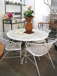 White Cast Iron Patio Furniture Cast Iron Outdoor Table And Chairs Vintage Cast Iron Patio Set