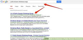 how to celebrate a public domain christmas 6 steps