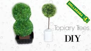 Herb Topiaries Diy Modern Topiary Plant Faux Tree Dollar Store Pinterest