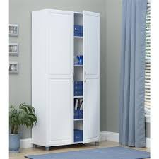 catskill white all purpose kitchen storage cabinet with double
