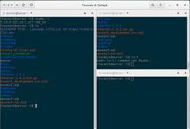 terminal emulator apk terminix a new gtk 3 tiling terminal emulator for linux