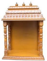 Puja Room Designs Pooja Room Mandap Designs In Wood Pooja Room Pinterest
