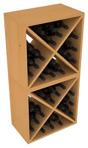 48 bottle wine cube collection living series wine rack