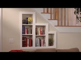 Wall Bookcase With Doors Storage The Stairs Bookcase