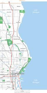 Map Of Milwaukee Northeast Milwaukee County Wisconsin Map