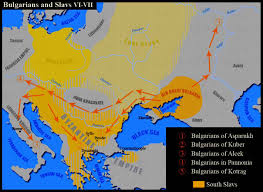 Constantinople Europe Map Free Here by Bulgarians And Slavs 6th 7th Centuries Ce Mapping Our World