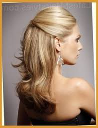 mother of the bride hairstyles partial updo mother of the bride hair half up half down medium length hair