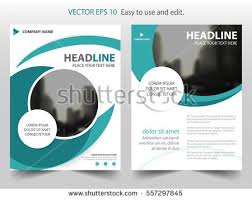 circle layout vector blue abstract circle annual report brochure stock vector 557297845