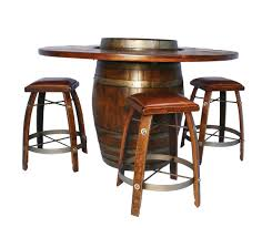 wine barrel furniture wine country accents home decor