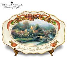 thanksgiving platter kinkade thanksgiving platter the kinkade company