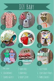 diy baby gifts a roundup of sewing patterns to sew for baby