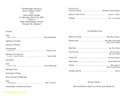 wedding program template template half fold wedding program template reception thank you