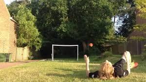 dancing gets soccer ball kick to face jukin media