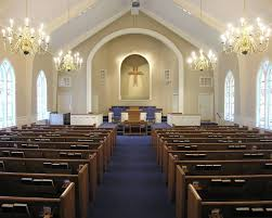 Church Renovations  Remodeling Sanctuary  Pew Restoration - Modern church interior design