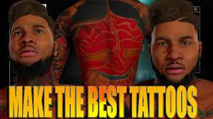 full body tattoo nba 2k16 nba 2k16 tips tricks full body tattoo tutorial how to make the