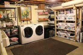 Ideas For Unfinished Basement Unfinished Basement Laundry Room Ideas Unfinished Basement Laundry
