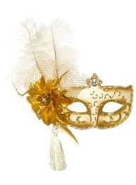 gold masquerade mask antoinette white and gold masquerade mask