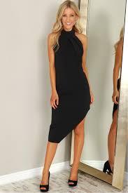 halter dress halter dress black