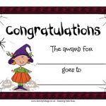 halloween certificate template halloween certificates printable