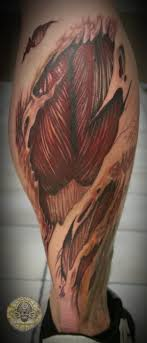 ripped skin tissue calf http tattootodesign com