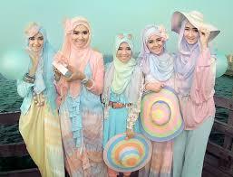 tutorial pashmina dian pelangi hijab tutorial by salamah color combinations colorful style by dian