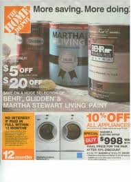 Home Depot 5 Gallon Interior Paint by Home Depot Labor Day Sale Ad Saving The Family Money